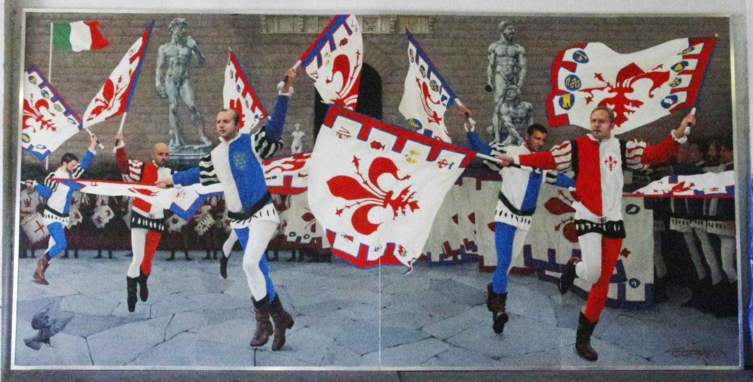 A. Flag Wavers of the Uffizi Mural