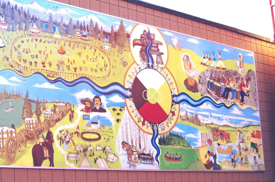 A. Dances and Lessons from Mother Earth Mural