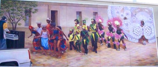 A. Rhythms of the Caribbean Mural