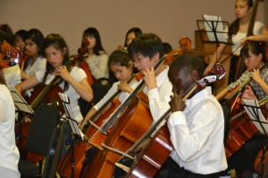 A. Young String Players - Music