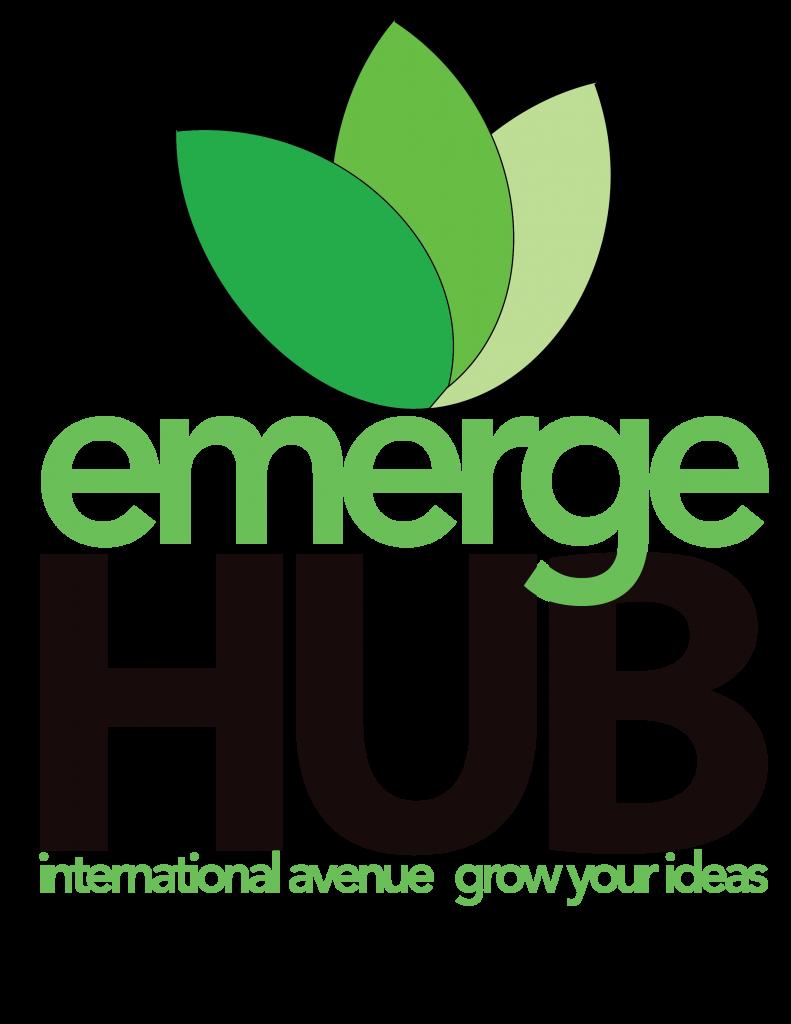 A. emergeHUB Logo