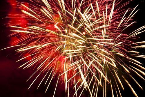 A. Fireworks Close-Up