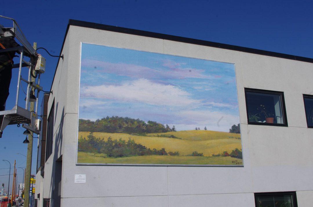 A. Peace Mural by Elsie Stein