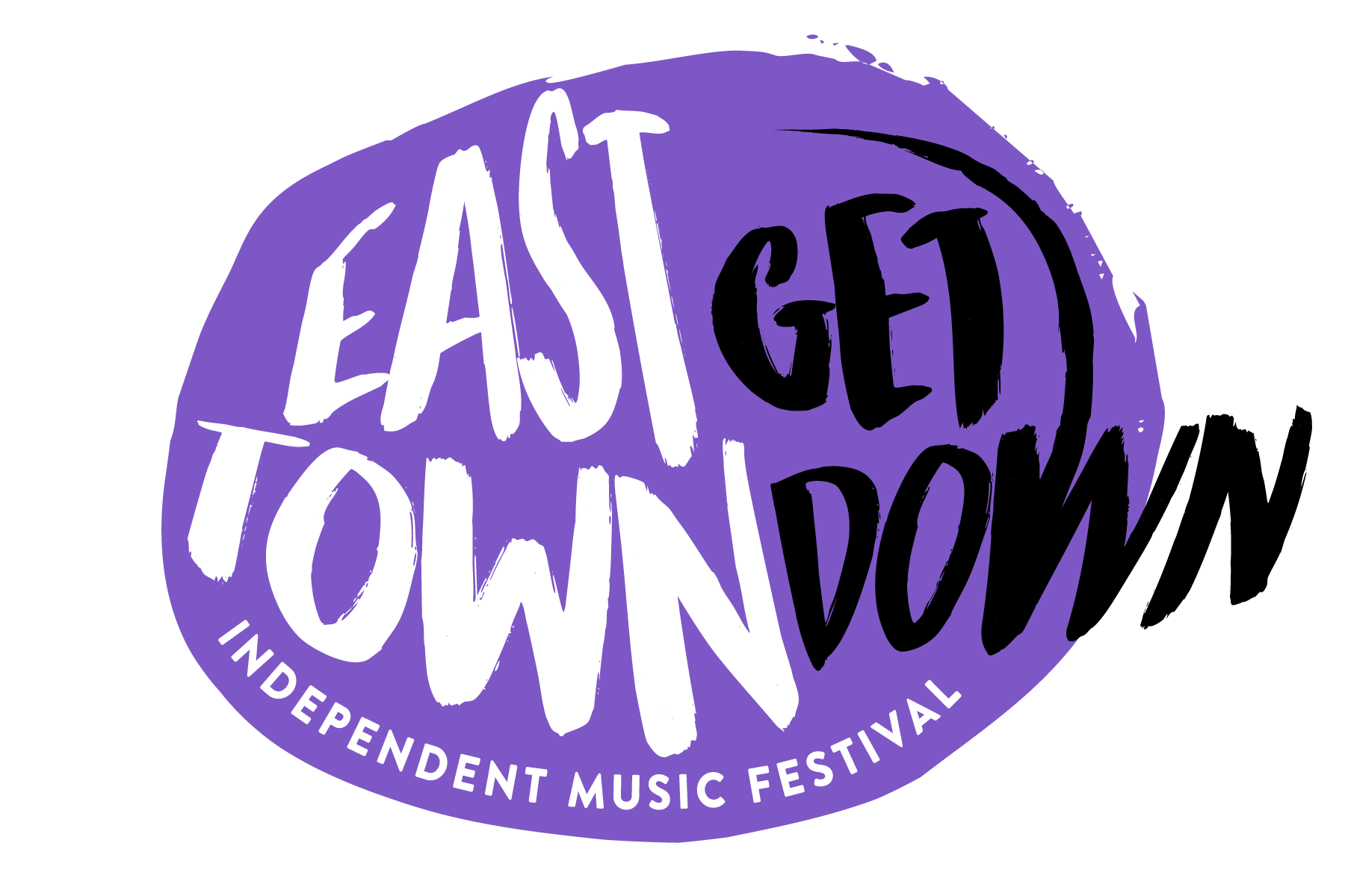 A. East Town Get Down Logo - Purple