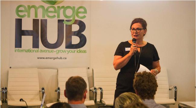 A. emergeHUB Business Workshops