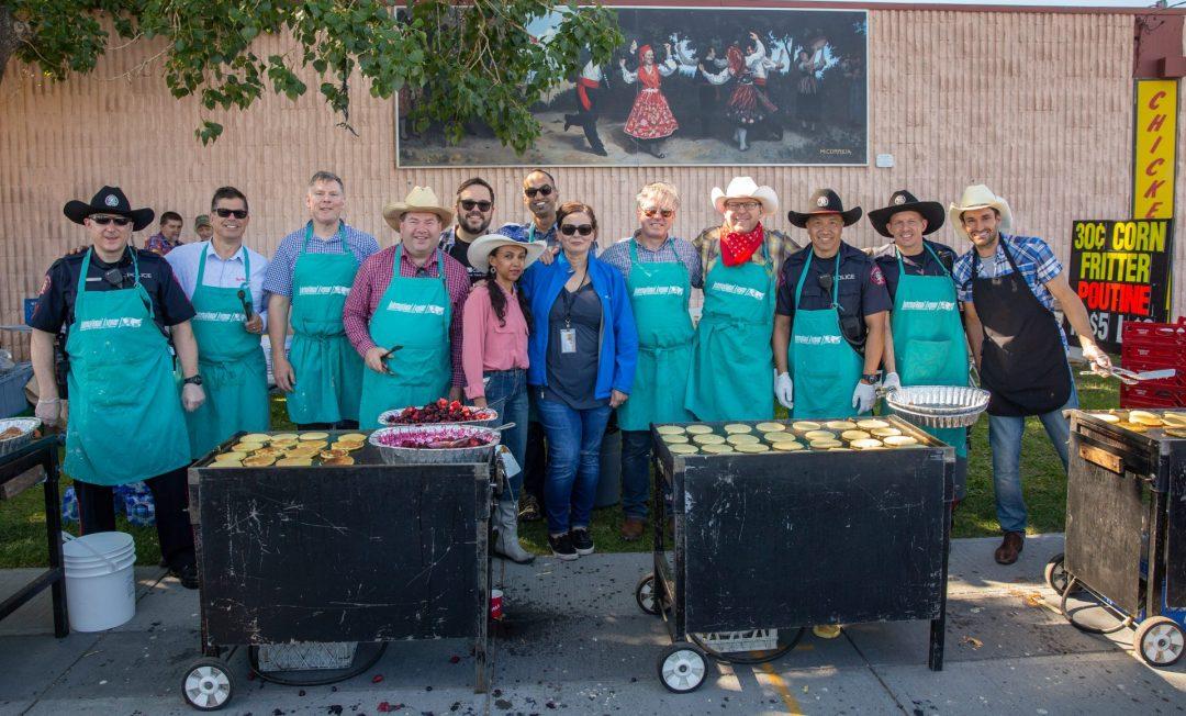 A. Best of the East Stampede Breakfast Volunteer Food Servers