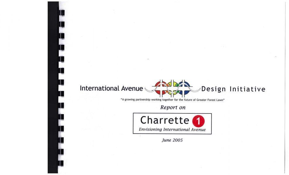 International Avenue Design Initiative - Envisioning International Avenue (2005) University of Calgary. Int Ave BRZ.