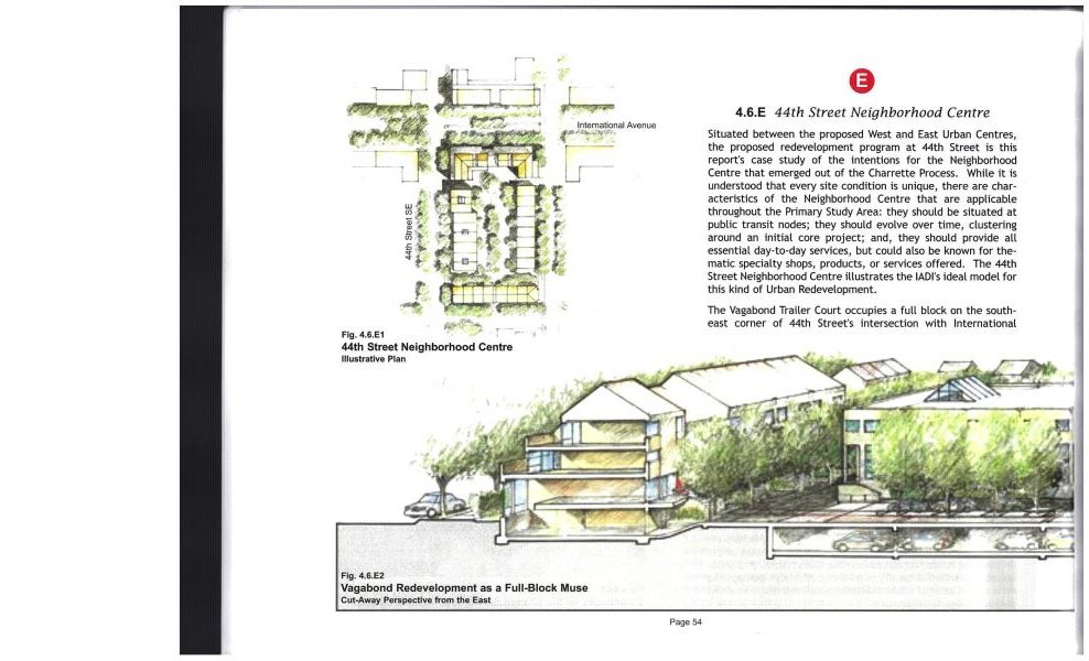 Envisioning International Avenue Concept 2005, university of calgary