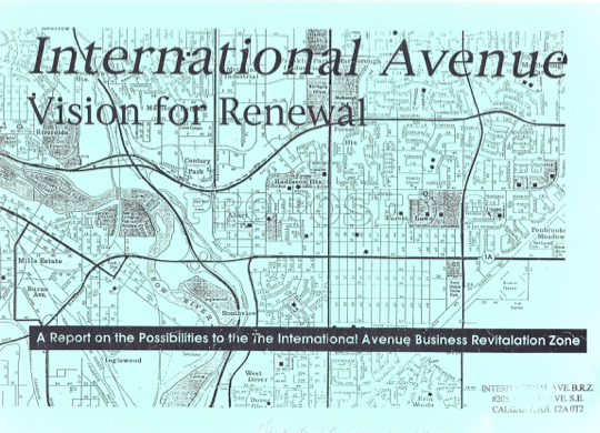 International Avenue Vision for Renewal (1995) by Wiseman Associates
